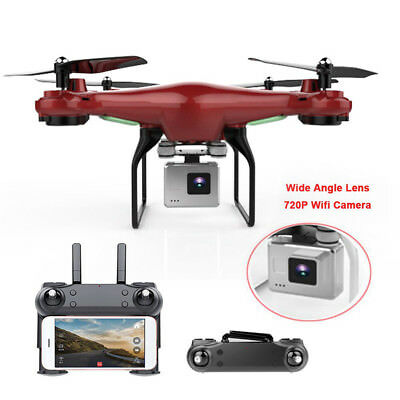 170° Wide Angle Lens RC QUadcopter WiFi FPV 720P Camera Headless Mode Helicopter