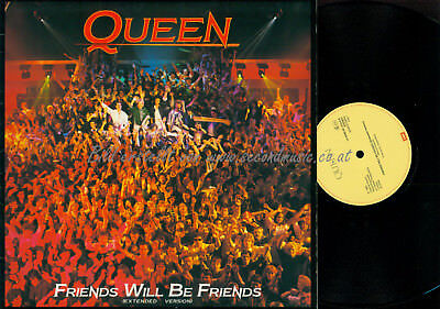 LP-MAXI // Queen – Friends Will Be Friends (Extended Version)