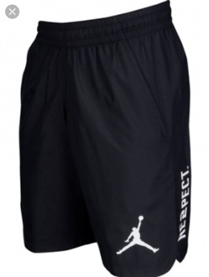 e614f8f0ece Nike Jordan Re2Pect 23 Alpha Dry Shorts Triple Black White 897831 010 Us  Mens Xl