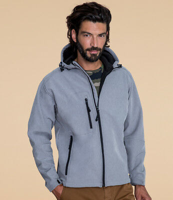 SOL'S - Replay Hooded Soft Shell Jacket - 46602 - Various Colours - Showerproof