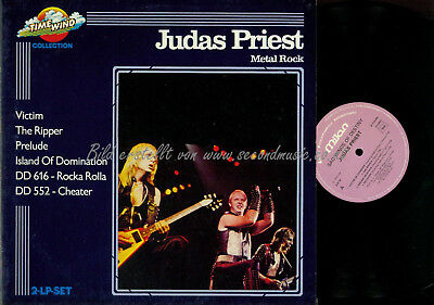 DLP--Judas Priest ‎–SAD WINGS OF DESTINY// ROCK A ROLLA