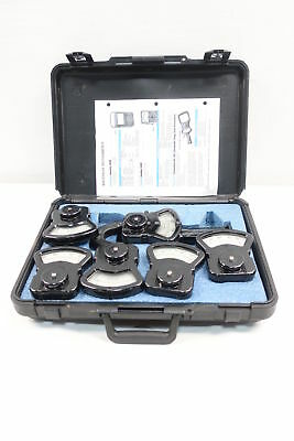 Columbia Electric Ax-70528 7 Piece Set Ac/dc Clamp-On Tong Test Ammeter D605071