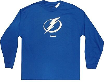 dacc4537c REEBOK NHL YOUTH Tampa Bay Lightning Long Sleeve Distressed Team ...