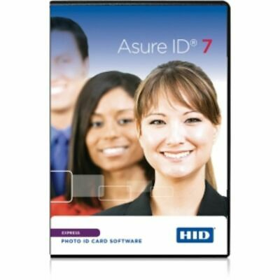 HID Asure ID v.7.0 Express - License - 1 License - Physical Ship - PC
