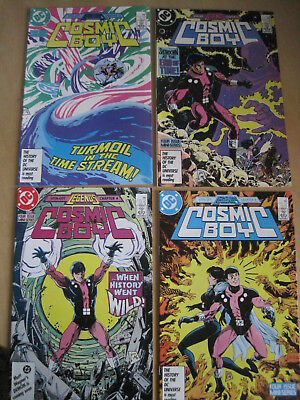 COSMIC BOY : COMPLETE CLASSIC 4 ISSUE 1986 DC series by LEVITZ & GIFFEN