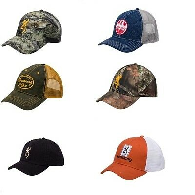 Browning Solid   Hunting Camo Style Adjustable Fit Baseball Style Ball Cap  Hats e0e1699fd64