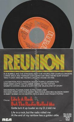 "7""   Reunion  ‎– Life Is A Rock"