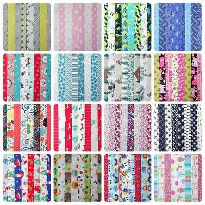 20 - 25 Jelly Roll Strips 100% Cotton Patchwork Fabric Crafts ~ 22 Inch Long