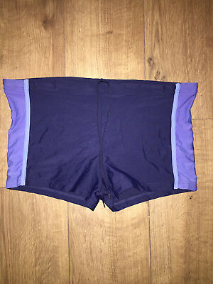 71ce2087d1 MENS MARKS & Spencers Navy Swimming Trunks Size M - £1.99 | PicClick UK