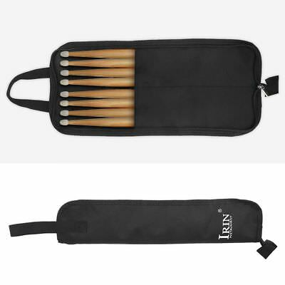 IRIN Waterproof Oxford Cloth Percussion Drum Stick Case Tote Bag with Hand Strap