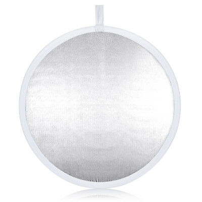 "Neewer Video Photo 31.5"" Round Collapsible Reflector Diffuser White/Silver"