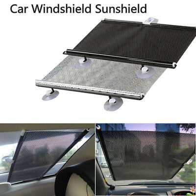 1 X 58Cm Car Window Sun Shade Auto Roller Blind Screen Protector Protection Kids