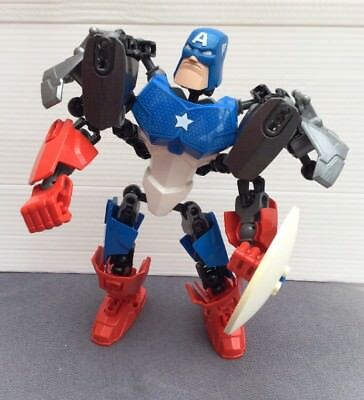 LEGO SUPER Heroes Avengers 4597 Captain America Large Buildable ...