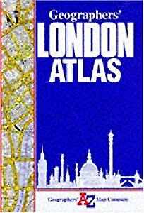 A. to Z. London Atlas (London Street Atlases), Geographers A-Z Map Company, Used