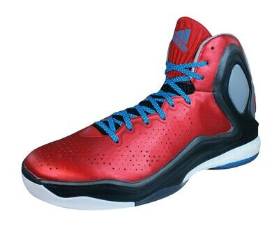 best loved 1556d 83335 adidas D Rose 5 Boost Mens Basketball Sneaker-Boots Court Shoes Red