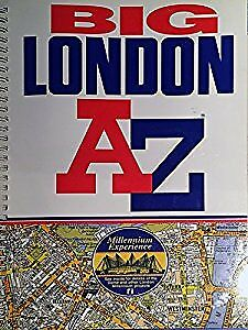 A-Z London Big Street Atlas, Geographers A-Z Map Company, Used; Acceptable Book