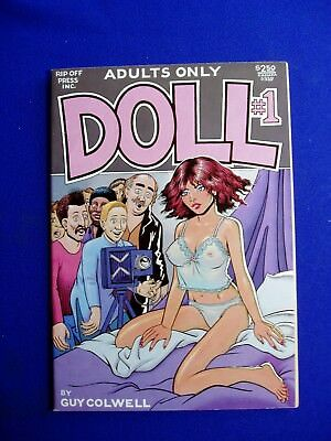 Doll 1: underground by Guy Colwell. 2nd print. VFN+.