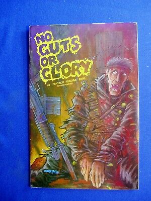No Guts or Glory 1: underground by Kevin Eastman. 1st print. VFN.