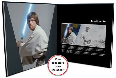 2018 Niue Star Wars New Hope Skywalker Foil Note 5 g Silver $1 Proof SKU52365