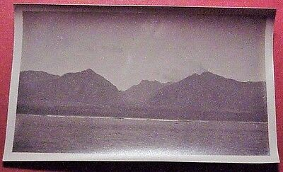 1910's Iao Valley from Kahului Harbor West Maui TH Hawaii