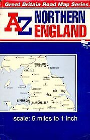 """A. to Z. Road Map of Great Britain - 5m-1"""": Northern England (Reversible Great B"""