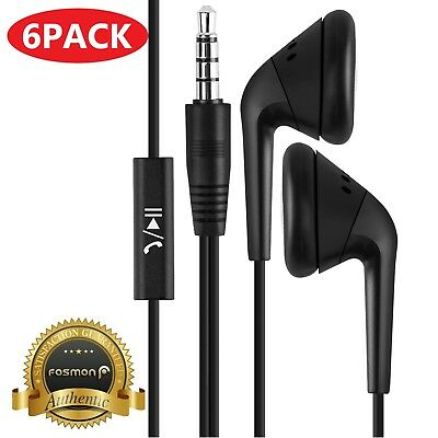 6x Samsung Earbuds Headphone Earphone Headset Mic For Galaxy S9+ Plus S8 Note 8