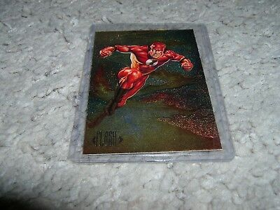 DC Comics Flash & Reverse Flash #DS4 SkyBox Master Series Insert 1994 NM/MNT