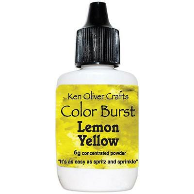 Ken Oliver Color Burst Powder - LEMON YELLOW