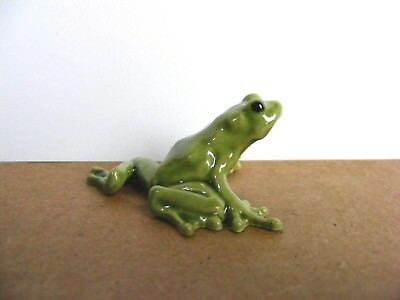 Hagen Renaker Tree Frog Mama Miniature Animal Figurine Support Wildlife Rehab