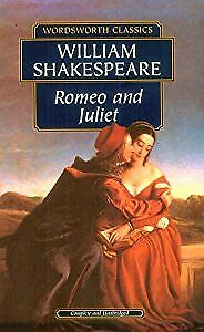 Romeo and Juliet (Wordsworth Classics), Shakespeare, William, Used; Acceptable B