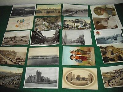Interesting postcard collection job lot 20 postcards lot 9