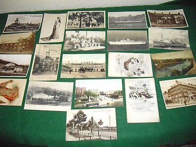 Interesting postcard collection job lot 20 postcards lot 7