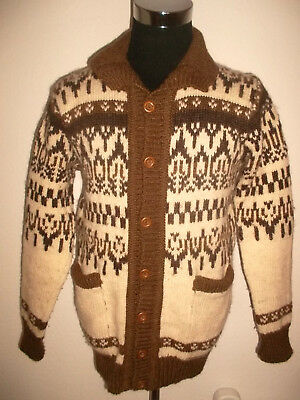 GAELTARRA NORDIC Strickjacke Wolle wool made in ireland jacket vintage M/L