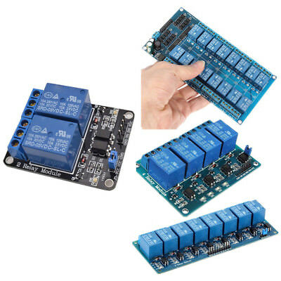 5V 2/4/8 Channel Relay Shield Board Module Optocoupler Led For Arduino Arm Avr C