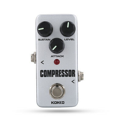 KOKKO FCP2 Mini Compressor Portable Guitar Effect Pedal for Electric Guitar Bass