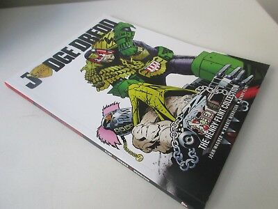 JUDGE DREDD   the henry flint collection graphic novel