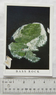 2011 postcard Bass Rock