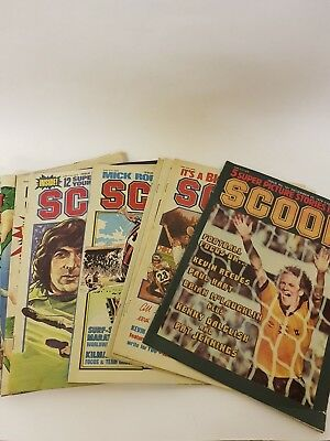 VINTAGE 16 x SCOOP COMICS FROM 1979