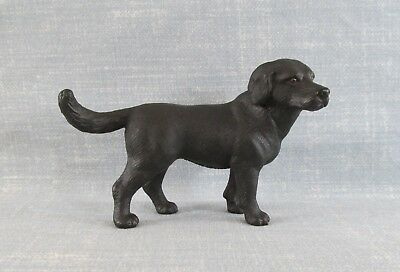 Schleich 16327 Black Labrador Retriever Dog Animal Model Toy Figure 2001 Germany