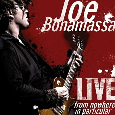 Joe Bonamassa : Live from Nowhere in Particular CD