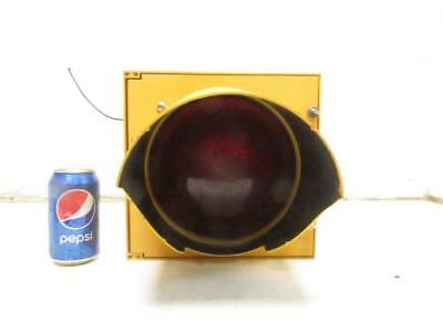 "Cool 8"" Eagle Traffic Street Signal RED Stop Light Man Cave Decor"