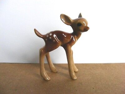 Hagen Renaker Deer Fawn Standing Miniature Animal Figurine Support Wildlife