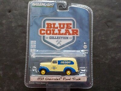 GREENLIGHT 1//64 SCALE GENUINE CHEVROLET PARTS /'39 CHEVY PANEL TRUCK35080-A