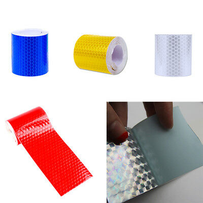 HOT Wetterfest Reflektierend Klebeband Aufkleber Reflective Safety Tape Film