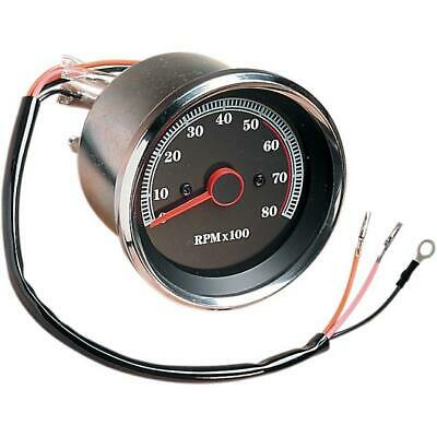 Drag Specialties Electronic 8000 RPM Tachometer DS-243939