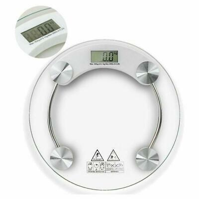 180KG Digital 4 digits LCD Display Personal Glass Body Weight Weighing Scales