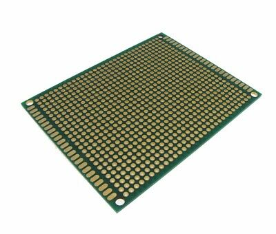 7x9CM Double Side Prototype Board Perforated Through Hole Gold Plated - 2.54mm