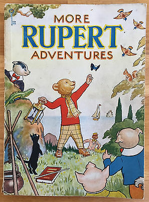 RUPERT ORIGINAL ANNUAL 1943 Inscribed Not Price Clipped VG PLUS.