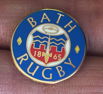 Bath Rugby Union Crest Enamel Pin Badge