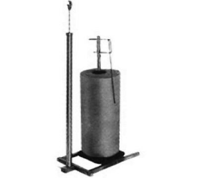 Store Display Fixtures NEW  1-ROLL POLY BAG DISPENSING RACK - CHROME